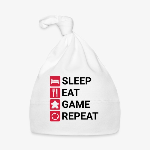 Sleep, eat, game, repeat - Babys lue