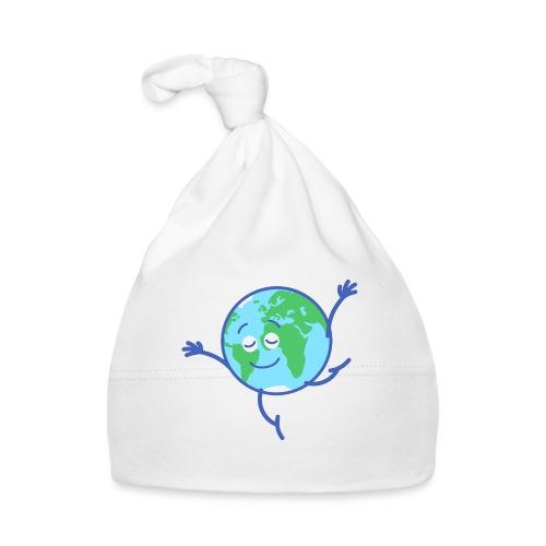 Cute planet Earth dancing graciously - Baby Cap