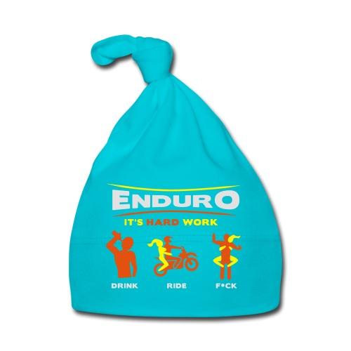 Enduro - It's hard work BlackShirt - Baby Mütze