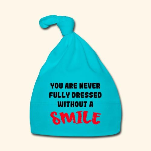 Niet aangekleed zonder glimlach 001 - Muts voor baby's