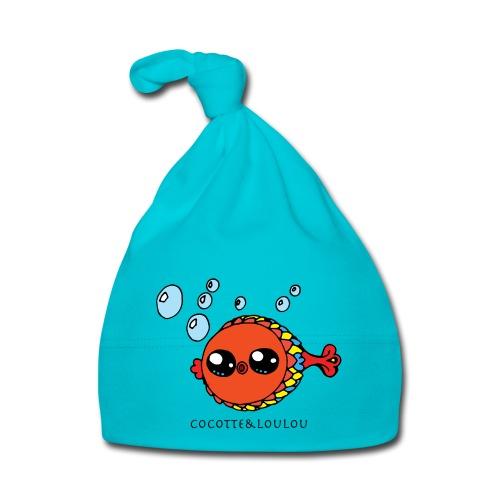 Bilbi le poisson - Bonnet Bébé