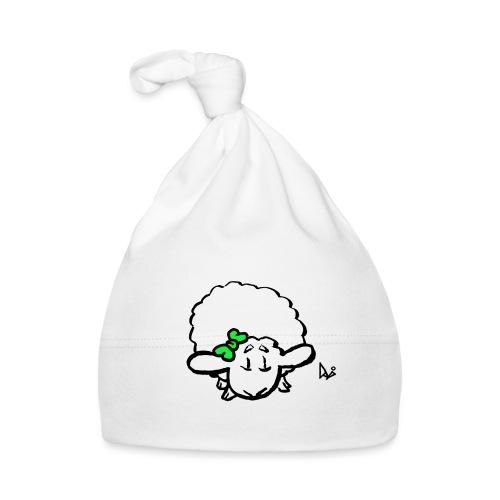 Baby Lamm (grün) - Baby Mütze