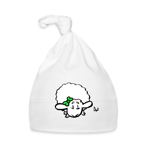Corderito (verde) - Gorro bebé