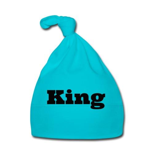 Snapback king rood/zwart - Muts voor baby's