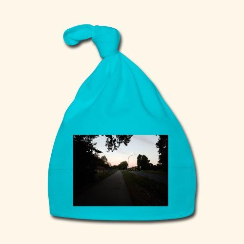 abendliche Landstraße - Baby Mütze