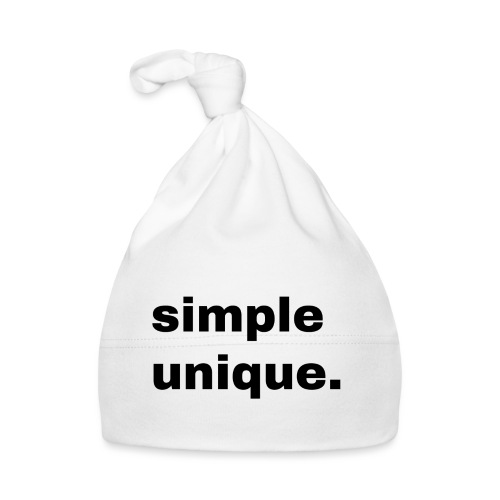 simple unique. Geschenk Idee Simple - Baby Mütze