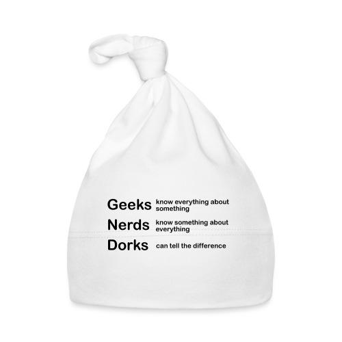Geeks Nerds Dorks - Baby Cap
