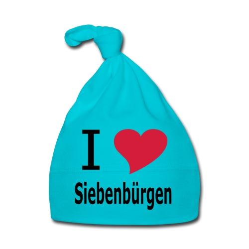 I Love Siebenbürgen - Transylvania - Baby Mütze