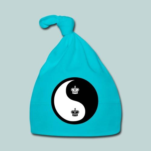 Schach-Yingyang - Baby Mütze