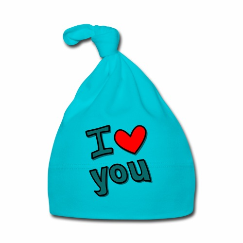 I love you - Baby Mütze