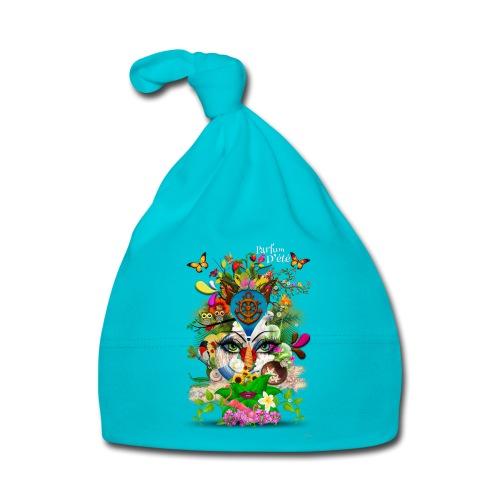 Parfum d'été by T-shirt chic et choc (tissu foncé) - Bonnet Bébé
