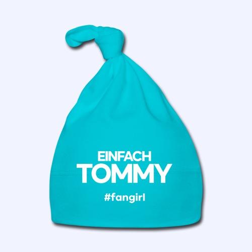 Einfach Tommy / #fangirl / White Font - Baby Mütze