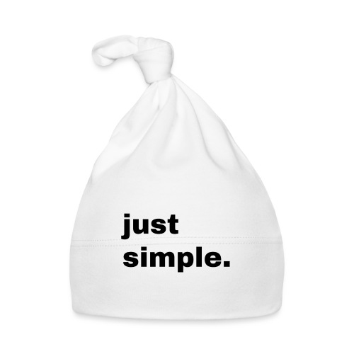 just simple. Geschenk Idee Simple - Baby Mütze