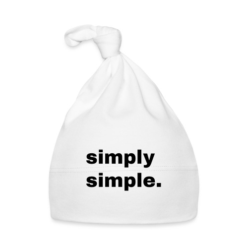 simply simple. Geschenk Idee Simple - Baby Mütze