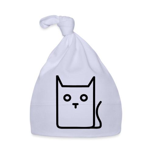 Katze Schwarz - Baby Mütze