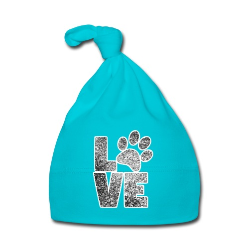 LOVE - Ich liebe Hunde - Baby Mütze