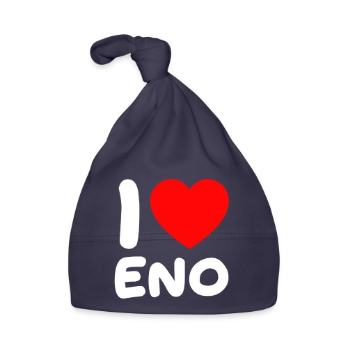I love Eno / valkoinen - Vauvan myssy