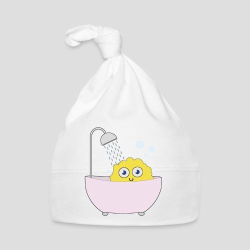 Knuffel in der Badewanne - Baby Mütze