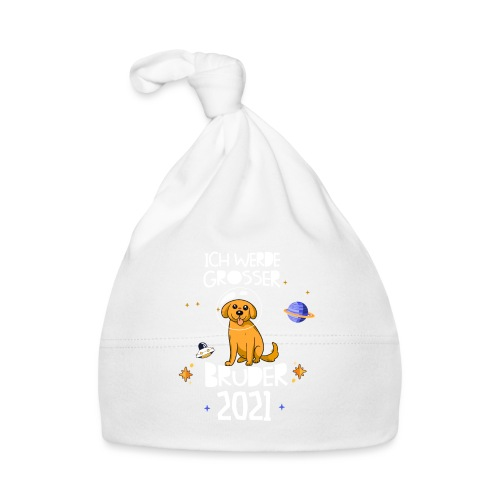 Großer Bruder 2021 Astronauten Hund Planeten - Baby Mütze