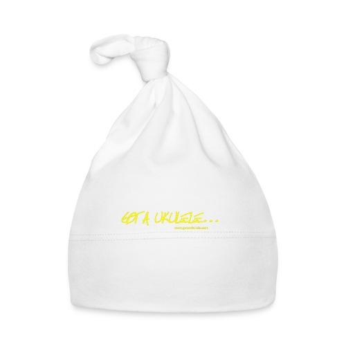 Official Got A Ukulele website t shirt design - Baby Cap