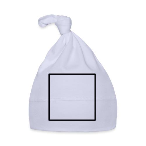 Square t shirt black - Muts voor baby's