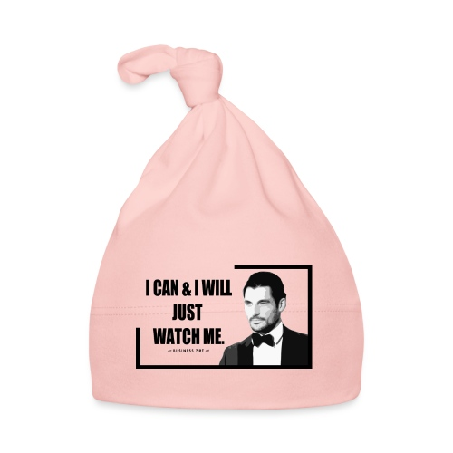 I can i will just watch me - Cappellino neonato