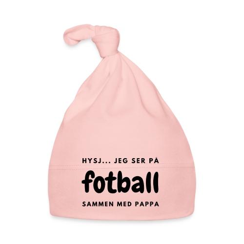 Fotballinteressert pappa / småbarnsforeldre - Babys lue
