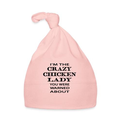 Crazy Chicken Lady - Baby Cap