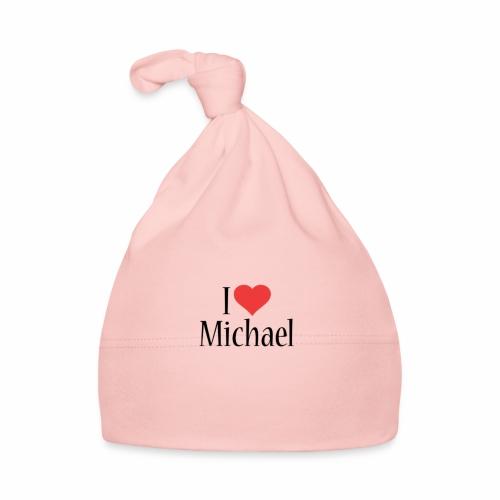 Michael designstyle i love Michael - Baby Cap