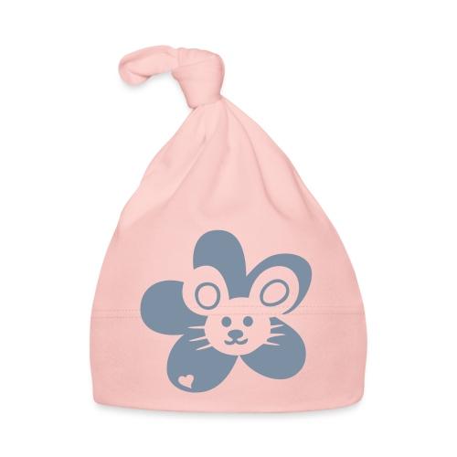 Maus Gesicht Blume - Baby Mütze