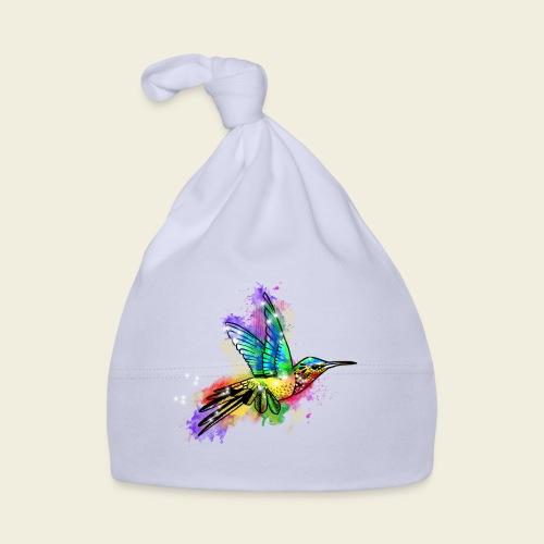Farbexplosion Kolibri - Baby Mütze