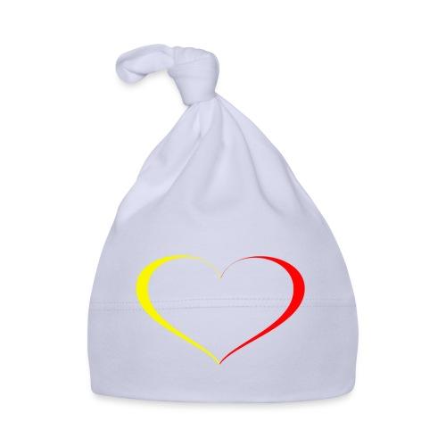 cuore giallorosso - Cappellino neonato
