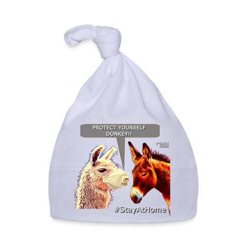 Protect Yourself Donkey - Coronavirus - Baby Cap