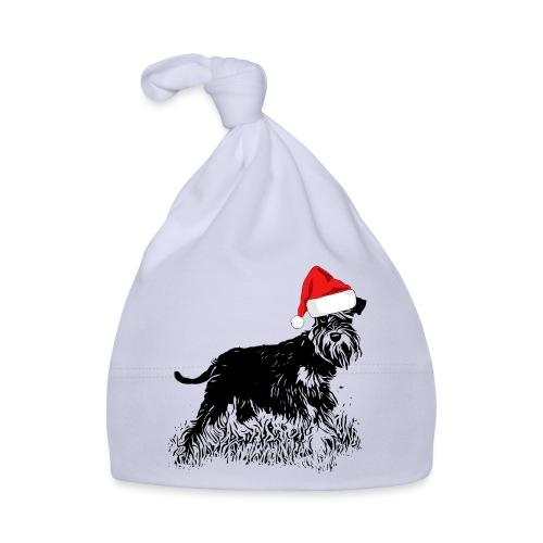 Weihnachten Zwergschnauzer Hund Schnauzer Geschenk - Baby Mütze