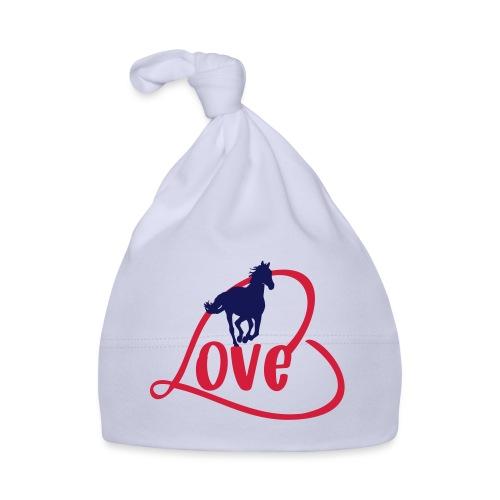 Pferde Liebe - Motiv für Reiter - Baby Mütze
