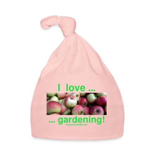 Äpfel - I love gardening! - Baby Mütze