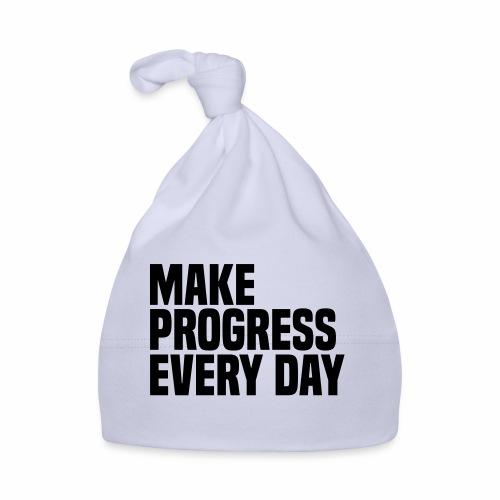 MAKE PROGRESS EVERY DAY - Baby Cap