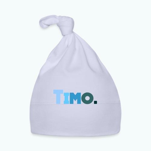 Timo in blauwe tinten - Muts voor baby's