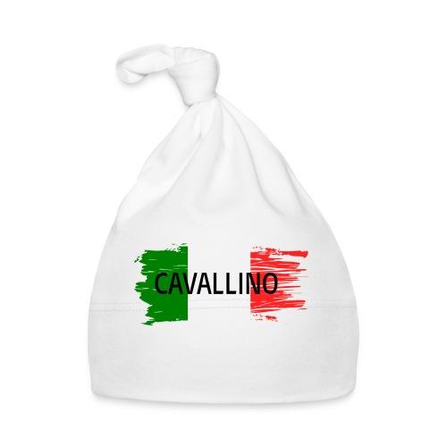 Cavallino auf Flagge - Baby Mütze