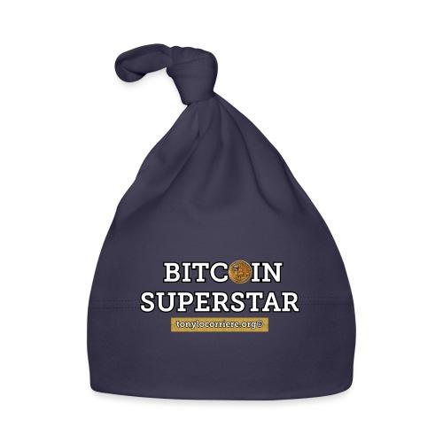 bitcoin superstar - Cappellino neonato