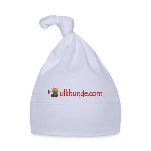 Ullihunde Schriftzug mit Logo - Baby Mütze