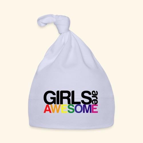 Girls are awesome - Czapeczka niemowlęca