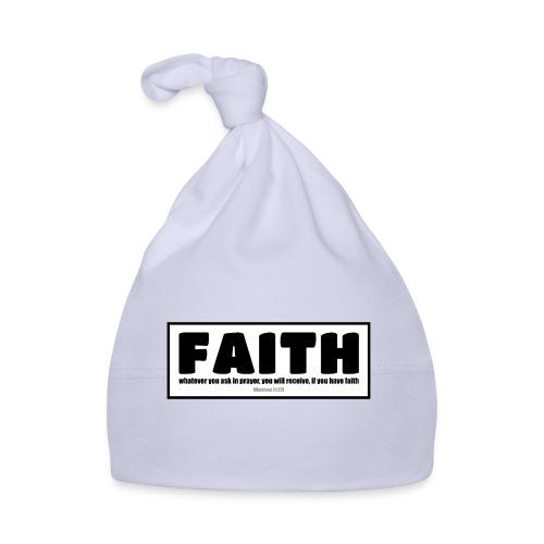 Faith - Faith, hope, and love - Baby Cap