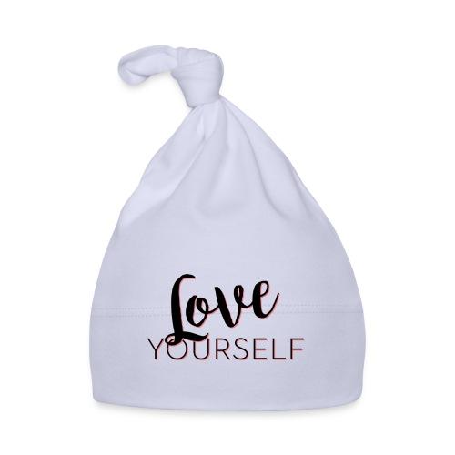 Love Yourself -Schriftzug Pascal Voggenhuber - Baby Mütze