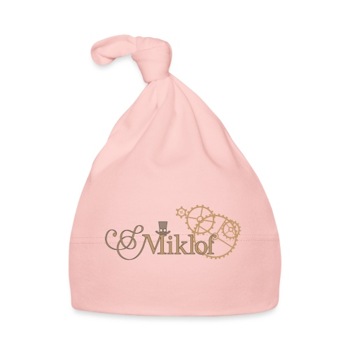 miklof logo gold outlined 3000px - Baby Cap