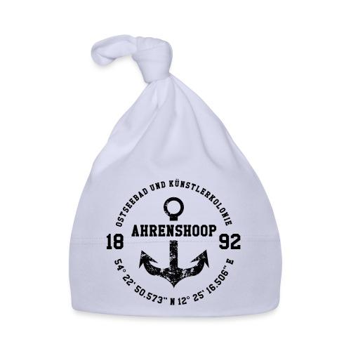 Ostseebad und Künstlerkolonie Ahrenshoop schwarz - Baby Mütze