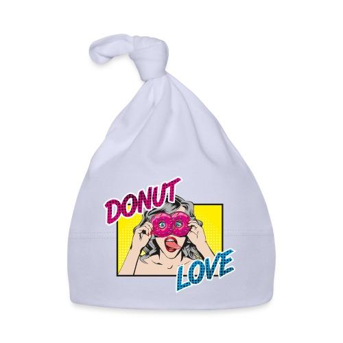 Popart - Donut Love - Zunge - Süßigkeit - Baby Mütze