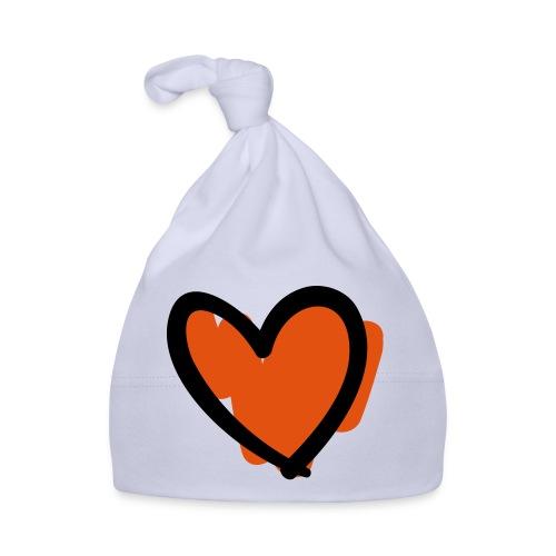 Heart Cut Pixellamb - Baby Mütze