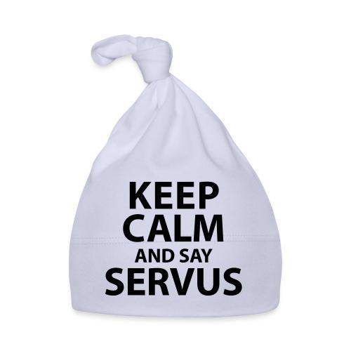 Keep calm and say Servus - Baby Mütze
