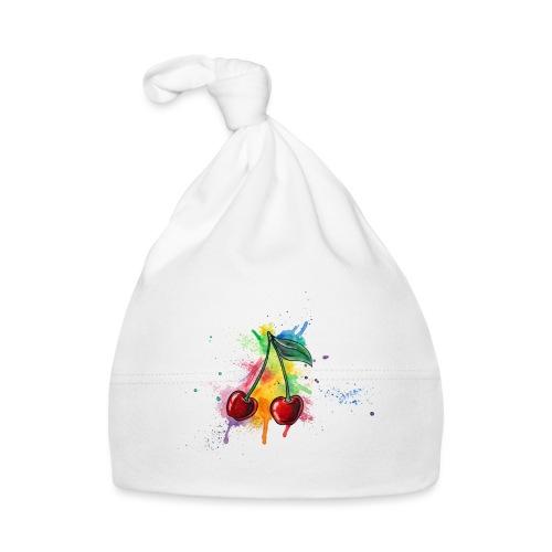 Cherries Watercolors Nadia Luongo - Cappellino neonato